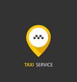 taxi service concept vector image