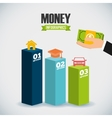 money infographic vector image