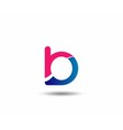 letter B logo icons design template elements vector image