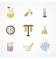 Science and research iconsPart I vector image