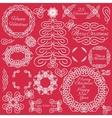design elements Hand-drawn flourishes vector image