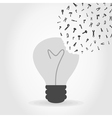 Tool a bulb vector image vector image