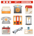 Business Icons Set 3 vector image vector image