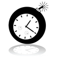 Cartoon time bomb vector image vector image