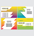 Line Speed Color Info Graphic Modern vector image