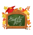 back to school board 2 380 vector image