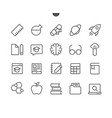 education ui pixel perfect well-crafted vector image