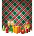 English Christmas vector image