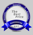 Safe product guarantee label vector image vector image