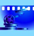film background vector image