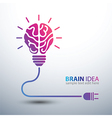 Brain idea5 vector image