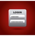 login icon image vector image