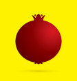 pomegranate fruit graphic vector image