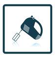Kitchen hand mixer icon vector image vector image