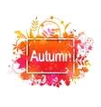 Autumn Grunge Banner vector image