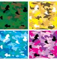 camouflage tile vector image vector image