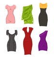 female dresses vector image