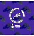 Logo Wine Cellar vector image