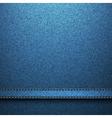 textile texture jeans background vector image