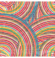 Abstract Striped Seamless Pattern vector image