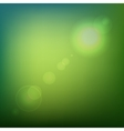Green Soft Colored Abstract Background with Lens vector image