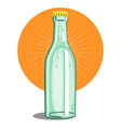 Softdrink Bottle Retro vector image