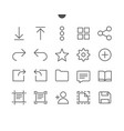 file ui pixel perfect well-crafted thin vector image
