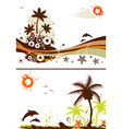 collect summer design vector image vector image