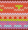knitted seamless texture vector image