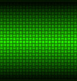 metalic green industrial texture for design vector image
