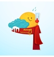 Seasonal weather changes vector image