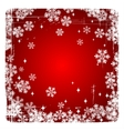Decorative Merry Christmas background with vector image vector image