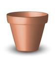 Flowerpot vector image