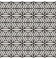 Seamless Black And White Ethnic Geometric vector image