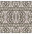 Vintage damask seamless pattern background vector image