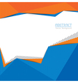 Abstract Triangle Shape Background Layout vector image