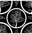 seamless tree pattern 01 vector image