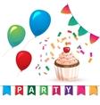 Birthday Celebration Design Elements For vector image