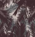 tropical leaf background vector image