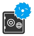 Hacking theft icon from Business Bicolor Set vector image