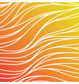 color seamless wave background orange abstract vector image