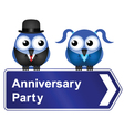 ANNIVERSARY PARTY vector image vector image