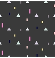 seamless pattern with geometric shapes vector image
