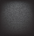 perforated carbon fiber weave vector image