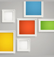 Abstract background of color boxes Template for a vector image