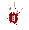 DNA blood icon vector image