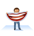Put on a Happy Face vector image vector image