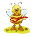 Cute Bee vector image