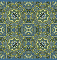 seamless doodle pattern colorful background vector image