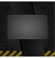 metallic grunge template iron sheet vector image vector image